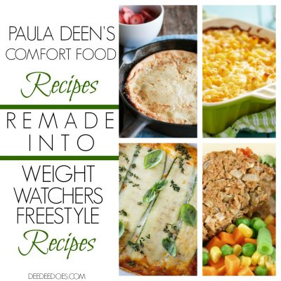 Brand New! Paula Deen's Comfort Food Recipes Remade for Weight Watchers Freestyle