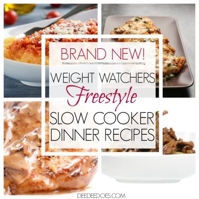 Brand New Weight Watchers Freestyle Slow Cooker Dinner Recipes
