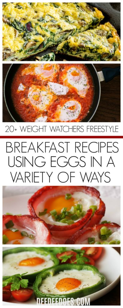 Weight Watchers Freestyle Mouth Watering Egg Recipes breakfast