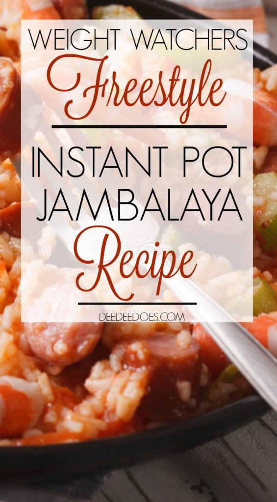 weight watchers freestyle recipe instant pot jambalaya