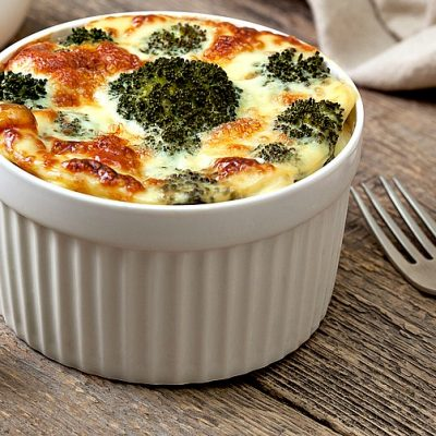 Instant Pot Weight Watchers Freestyle Recipe for Cheesy Broccoli Egg Souffles