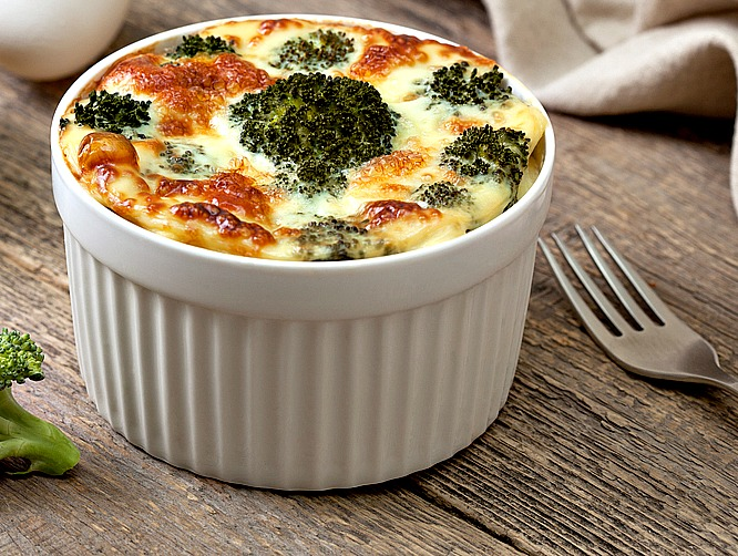 Instant Pot Weight Watchers Freestyle Cheesy Broccoli Egg Souffles