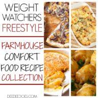 Weight Watchers Freestyle Printable Farmhouse Recipes