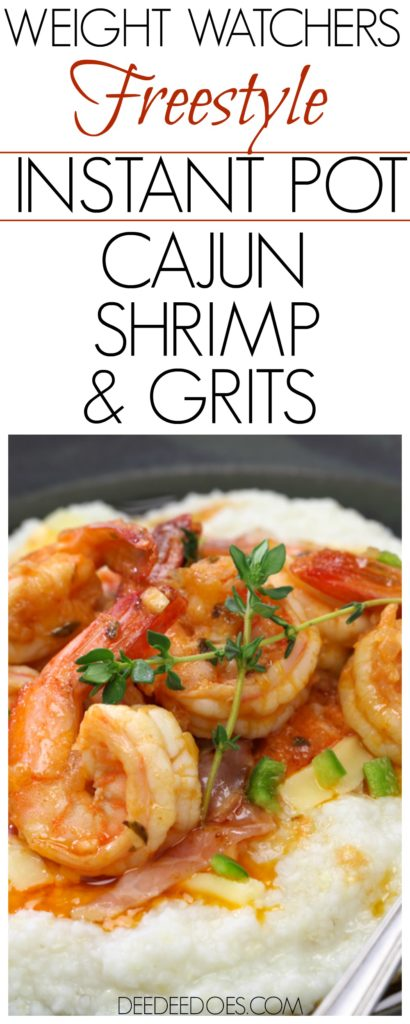 Weight Watchers Freestyle Instant Pot Recipe Cajun Shrimp Grits