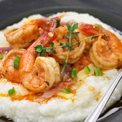 Weight Watchers Freestyle Instant Pot Recipe for Cajun Shrimp and Grits