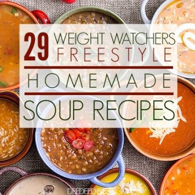 29 Weight Watchers Freestyle Homemade Soup Recipes