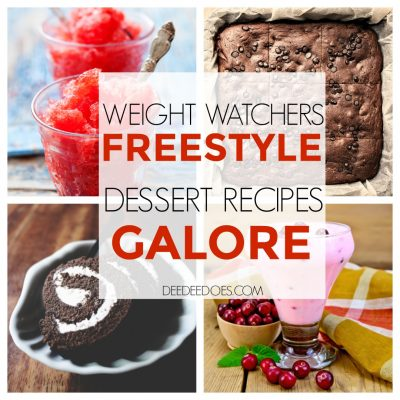 Fantastically Delicious Weight Watchers Freestyle Dessert Recipes