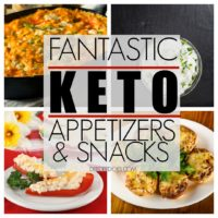 Fantastic KETO Low Carb Appetizers and Snack Recipes