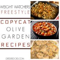 Copycat Olive Garden Restaurant Recipes Remade Weight Watchers Freestyle