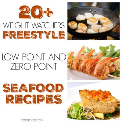 Fantastic Low Point and 0 Point Weight Watchers Freestyle Seafood Recipes