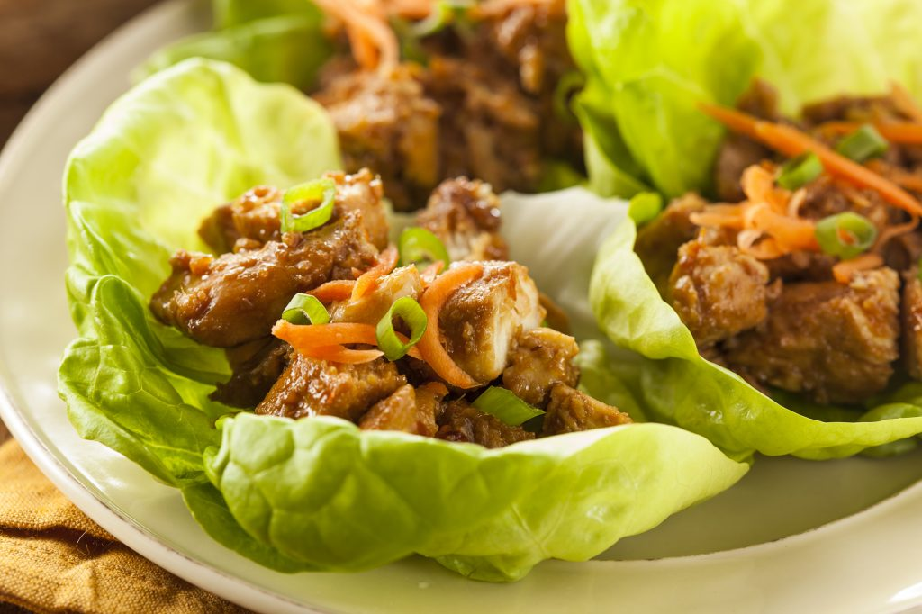 Weight Watchers Freestyle Loaded Chicken Lettuce Cups Recipe