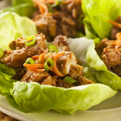 Weight Watchers Loaded Chicken Lettuce Cups Recipe