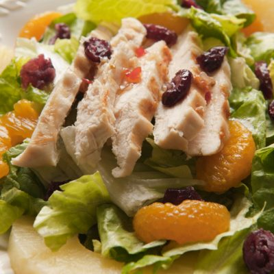 Weight Watchers Skinny Version of Chili's Caribbean Chicken Salad