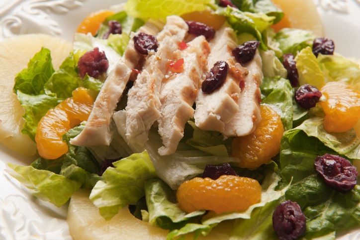 Weight Watchers Freestyle Skinny Version of Chili's Caribbean Chicken Salad