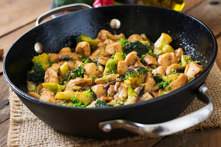 Delicious and Healthy Chinese Ginger Chicken with Broccoli