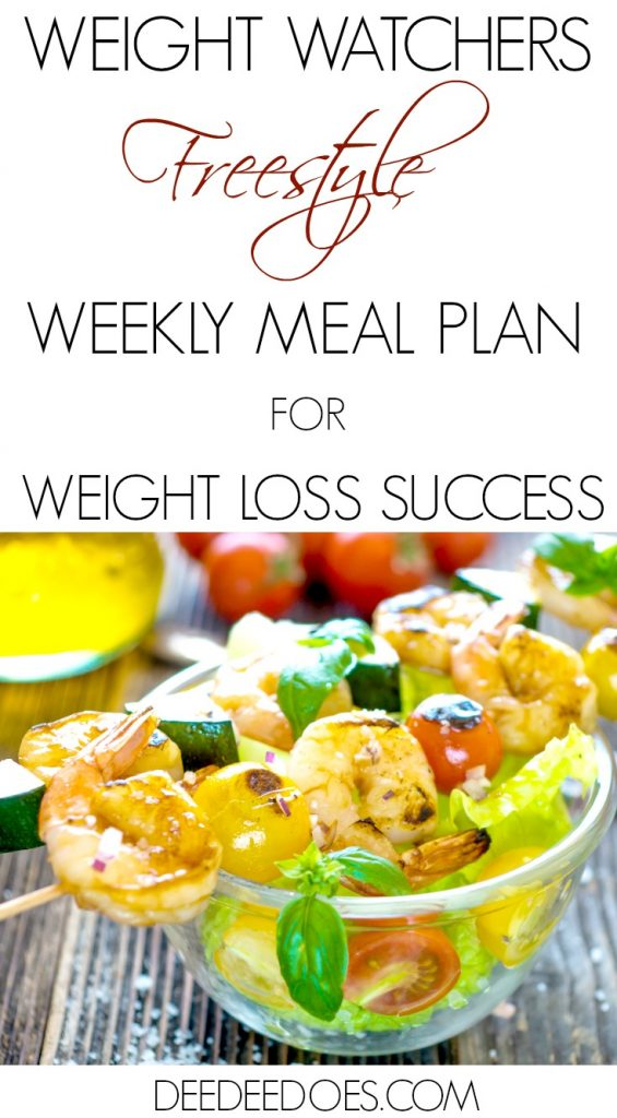 Weight Watchers Freestyle Weight Loss Meal Plan