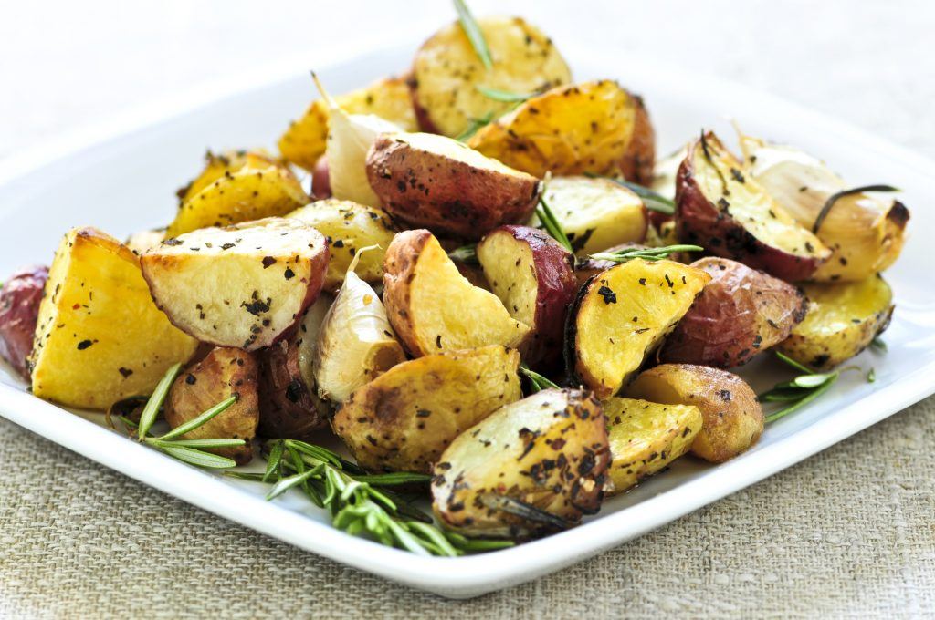 Healthy Quick Instant Pot Crispy Red Potatoes Rosemary