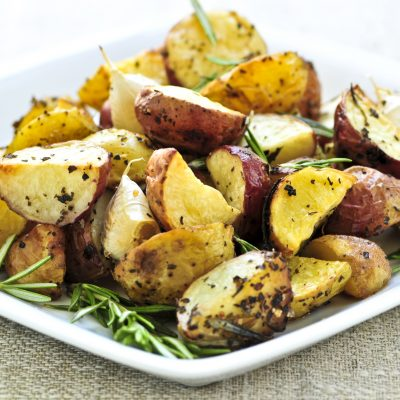 Healthy & Quick Instant Pot Crispy Red Potatoes with Rosemary