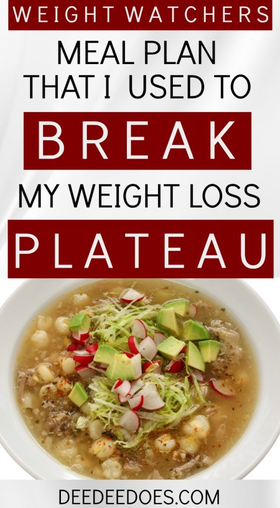 how to break a weight loss plateau in one week on weight watchers