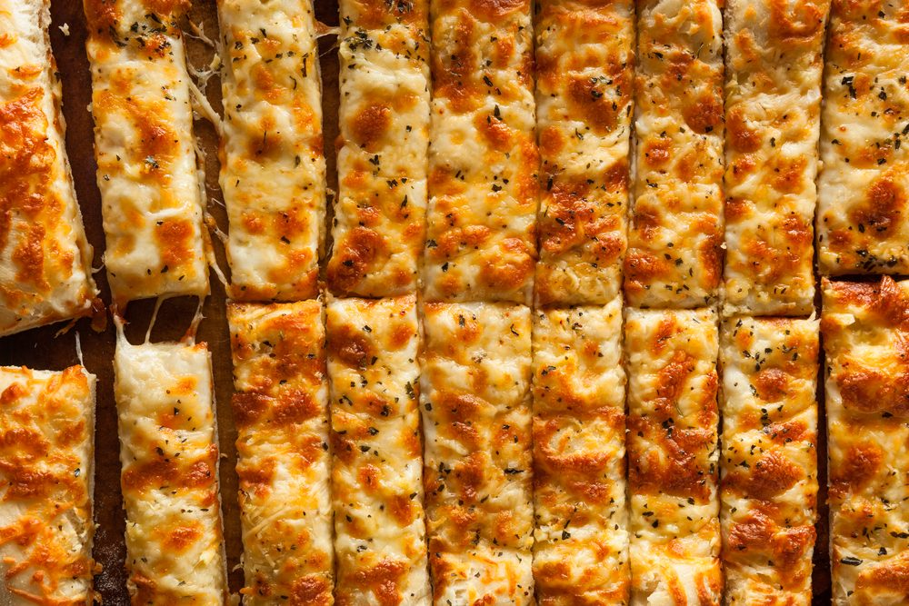 Weight Watchers Cheesy Cauliflower Breadstick Recipe