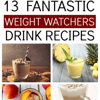 Fantastic Weight Watchers Drink Recipes – Hot, Cold, Mocktails, Iced Teas, Punches & More!