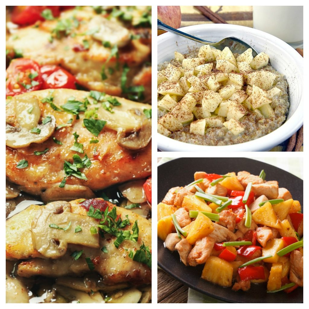 Weight Watchers Weekly Meal Plan for all Plans | Weight Loss Meal Plan