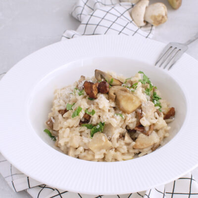 Weight Watchers Creamy Mushroom Cauliflower Risotto