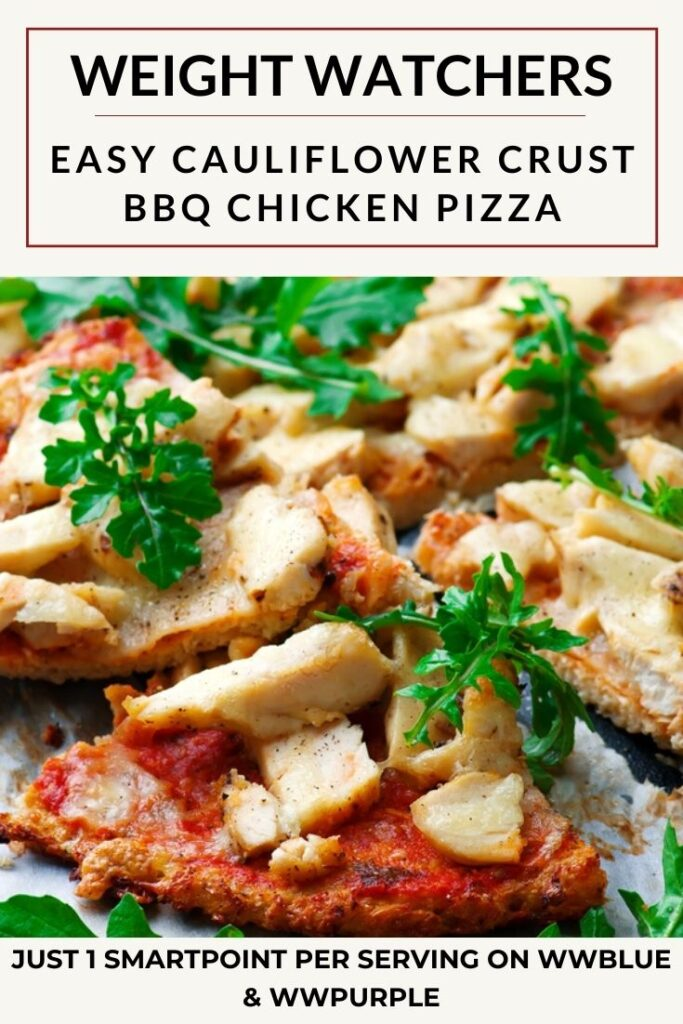 Easy Cauliflower Crust Barbecue Chicken Pizza Recipe