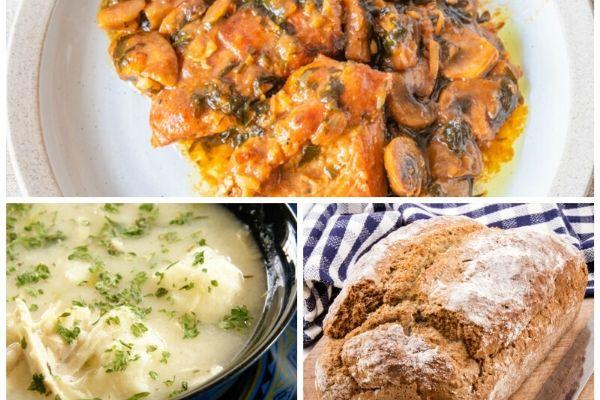 Weight Watchers Meals: Chicken Marsala, No Knead Bread + Chicken & Dumplings from DeeDeeDoes.com