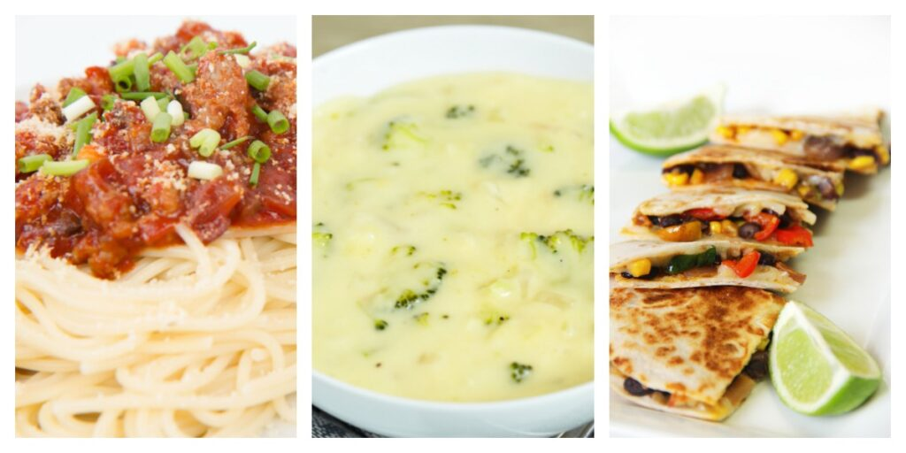 picture of deedeedoes weight watchers recipes of slow cooker italian meat gravy, panera bread's copycat broccoli cheese soup and low smartpoint quesadillas