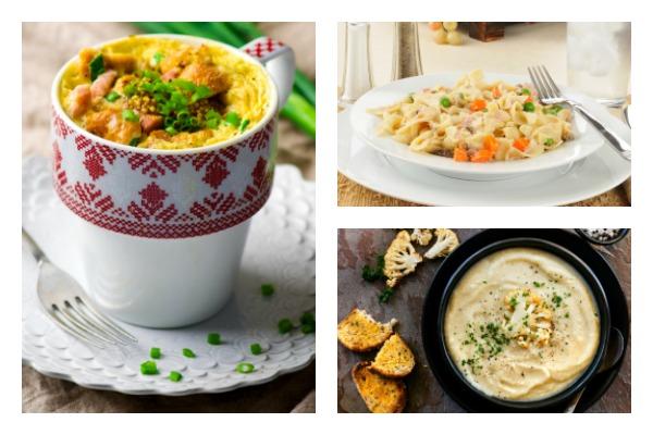 Collage of Weight Watchers Meals featured on DeeDeeDoes.com