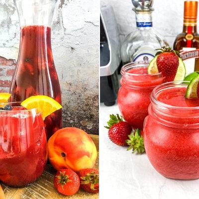 Weight Watchers Skinny Summer Cocktails – Sangria & Margarita