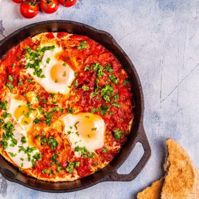 Weight Watchers 0 SmartPoint Breakfast – Egg Shakshuka
