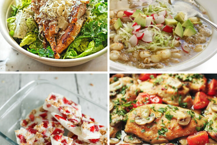 Weight Watchers Weekly Meal Plan for the Week of 9/20-9/26
