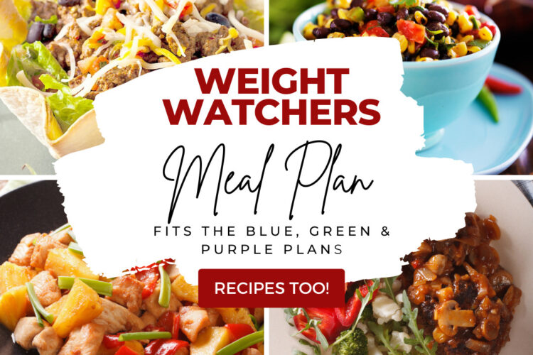 Weight Watchers Weekly Meal Plan for the Week of 9/6-9/12