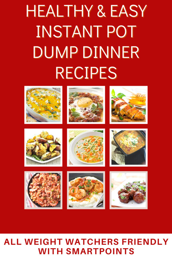 Healthy and Easy Instant Pot Dump Dinner Recipes