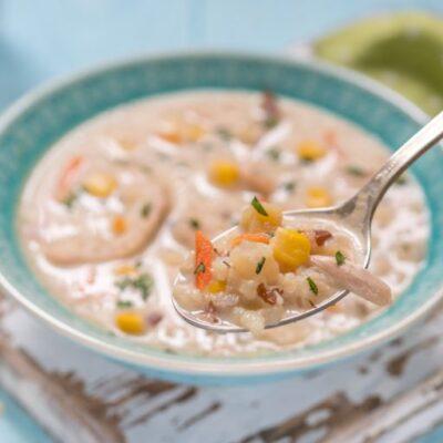 Healthy Chicken Corn Chowder Recipe