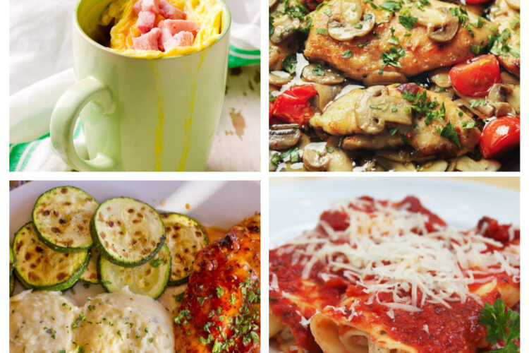 Weight Watchers Weekly Meal Plan for the Week of 10/18-10/24